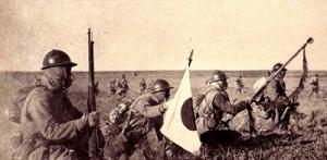 Japanese-invading-Manchuria